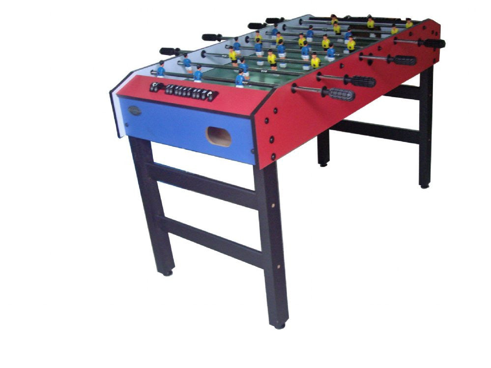 Berner Kid's 48 Inch Foosball Table - Blue & Red