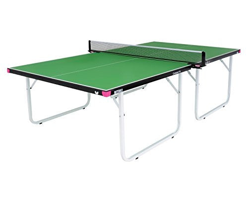Butterfly Compact Green Table Tennis Table