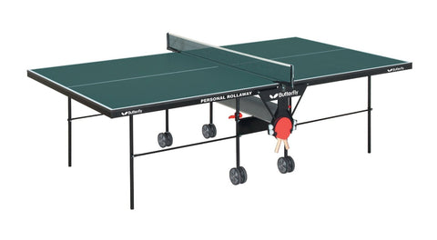 Butterfly Personal Rollaway Green Table Tennis Table