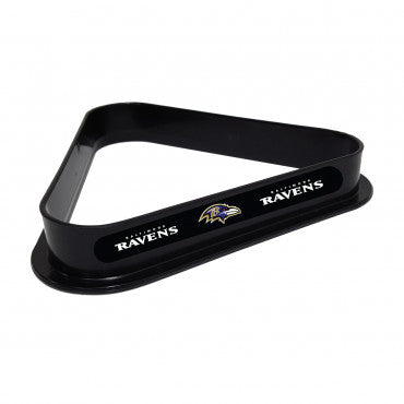 Imperial Baltimore Ravens Plastic 8-Ball Rack