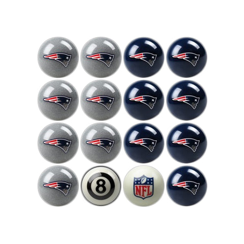 Imperial New England Patriots Home vs. Away Billiard Ball Set