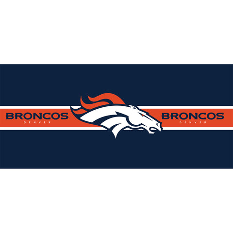 Imperial Denver Broncos Double Garage Door Cover