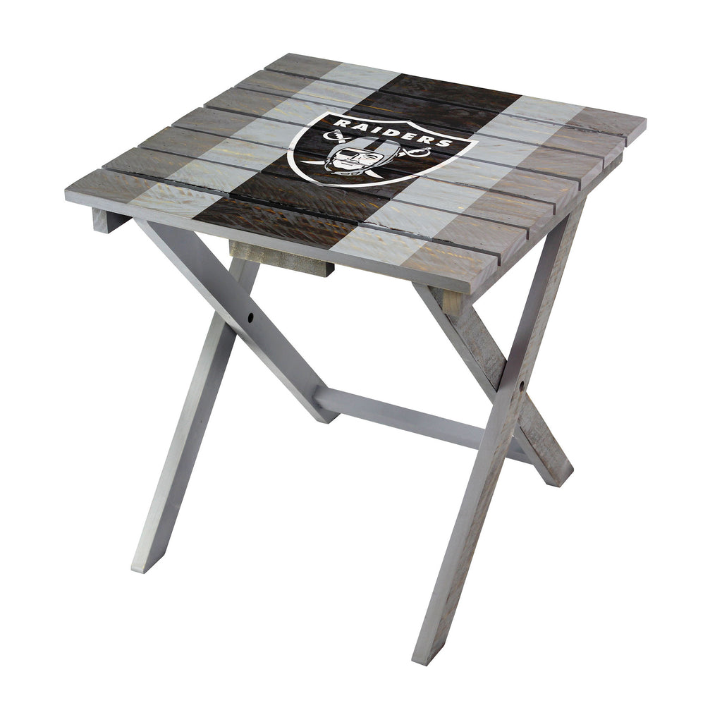 Imperial Oakland Raiders Folding Adirondack Table
