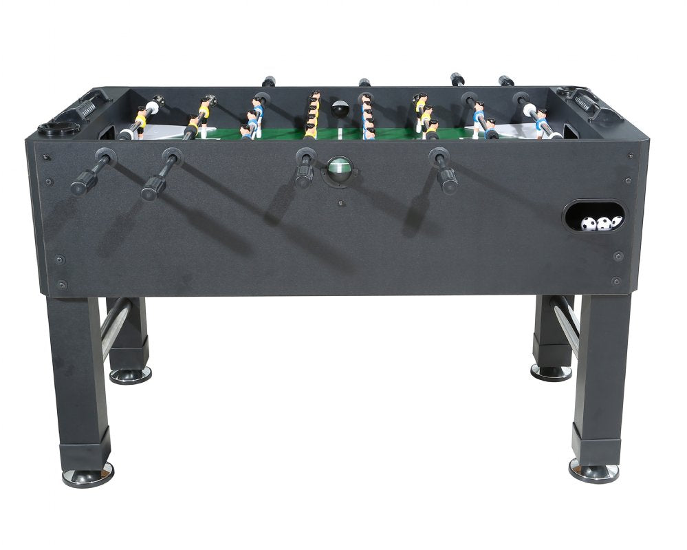 Berner Billiards Premium Foosball Table in Black