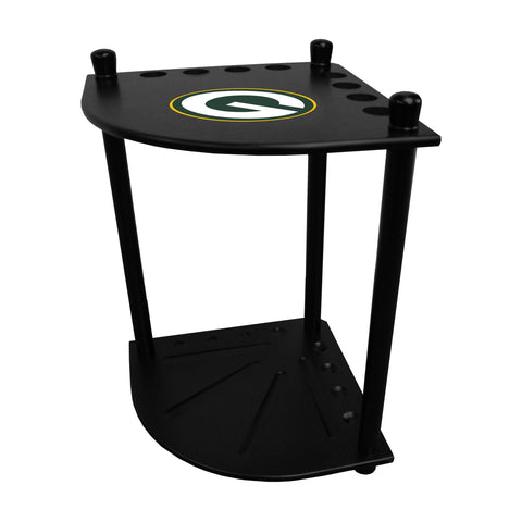 Imperial Green Bay Packers Corner Cue Rack