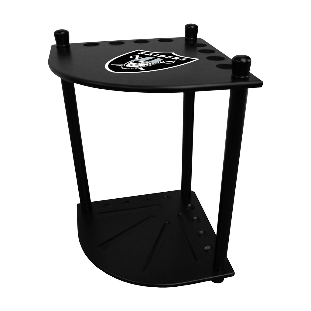Imperial Oakland Raiders Corner Cue Rack
