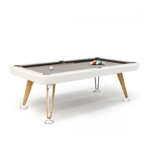 RS Barcelona White Pool Table