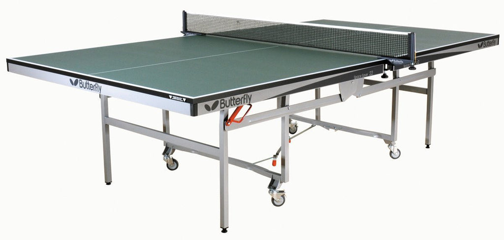 Butterfly Space Saver 22 Green Table Tennis Table