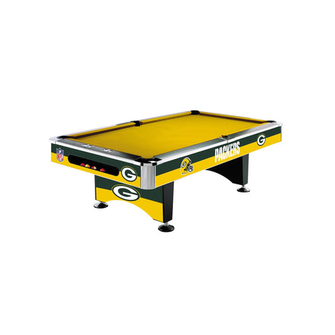 Imperial Green Bay Packers 8-Ft. Pool Table