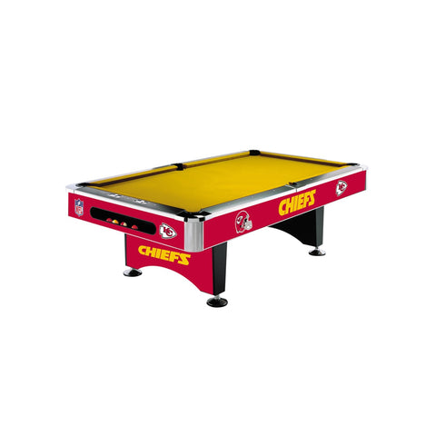 Imperial Kansas City Chiefs 8-Ft. Pool Table