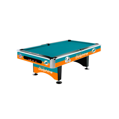Imperial Miami Dolphins 8-Ft. Pool Table