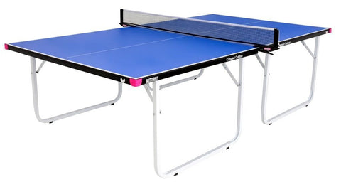 Butterfly Compact Outdoor Blue Table Tennis Table