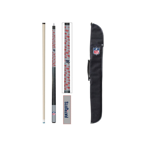 Imperial New England Patriots Cue And Case Set