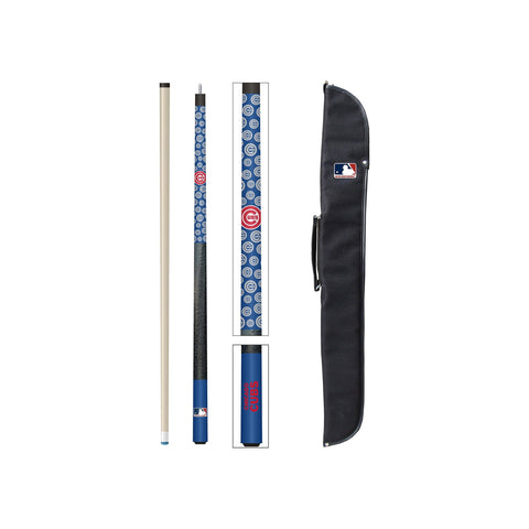 Imperial Chicago Cubs Cue and Case Set
