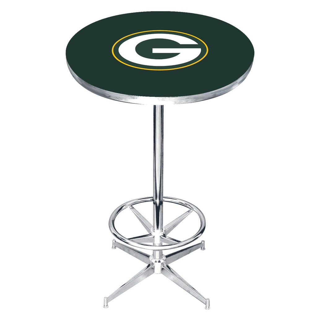 Imperial Green Bay Packers Pub Table