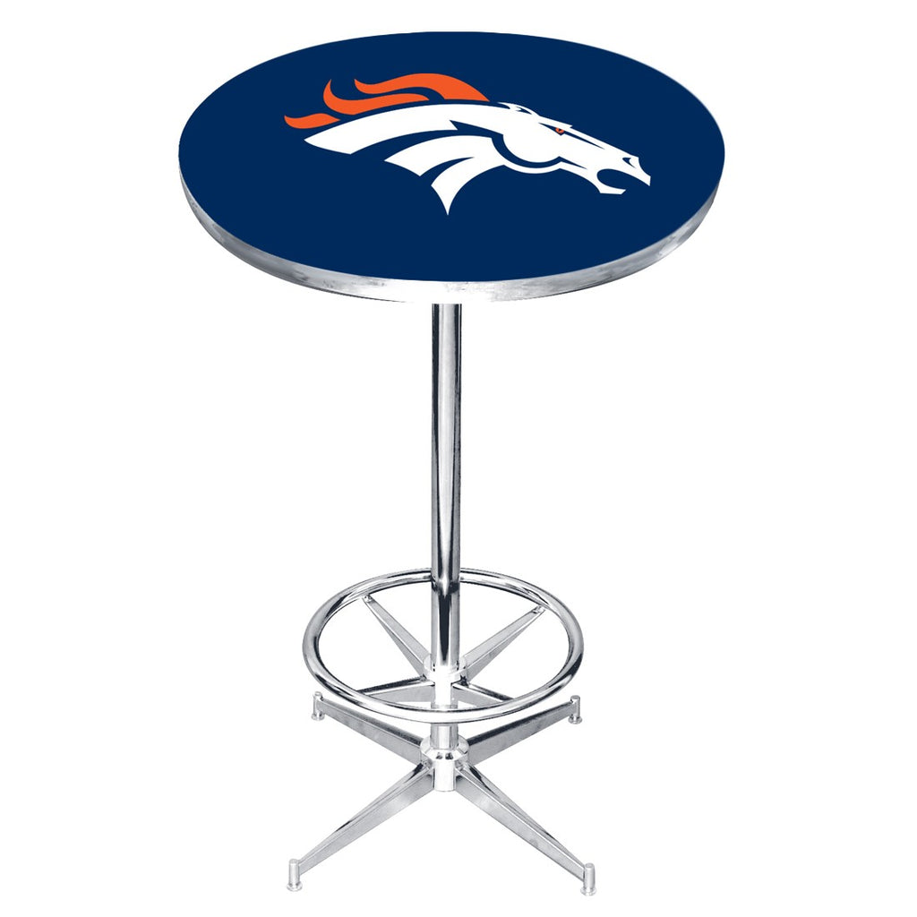 Imperial Denver Broncos Pub Table