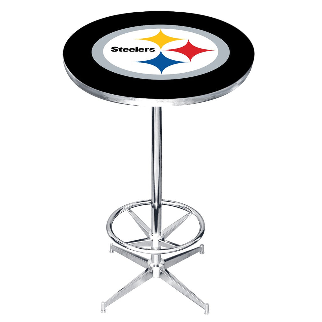 Imperial Pittsburgh Steelers Pub Table