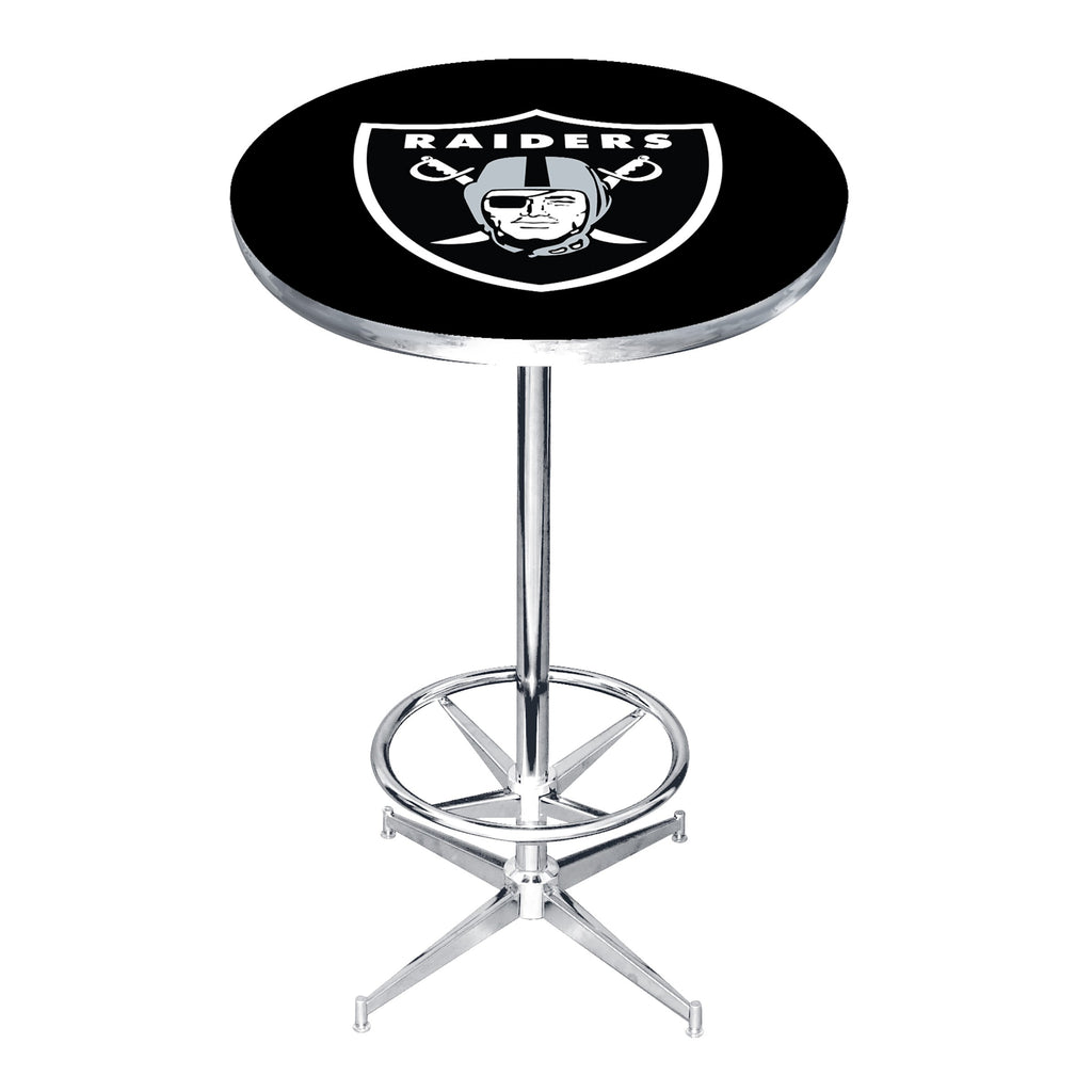 Imperial Las Vegas Raiders Pub Table