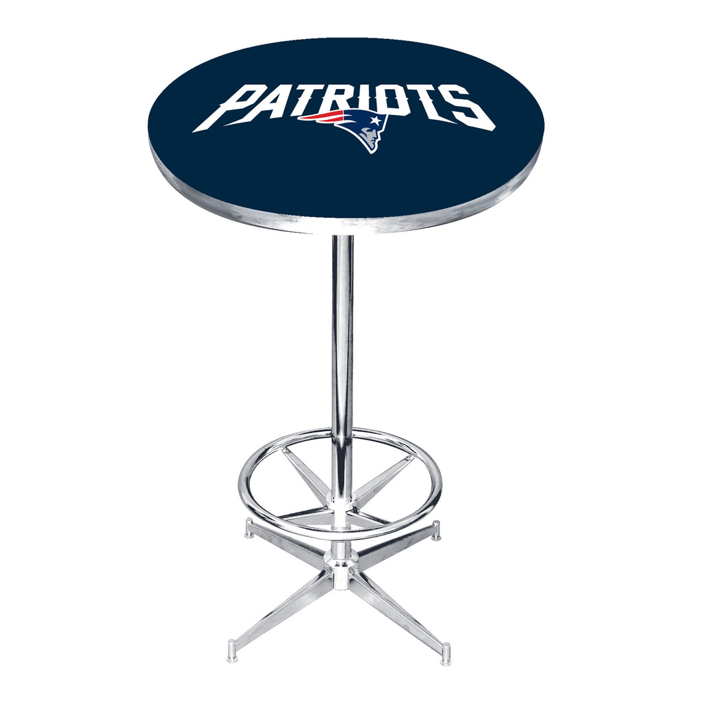 Imperial New England Patriots Pub Table