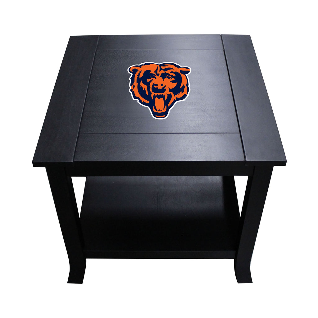 Imperial Chicago Bears Side Table