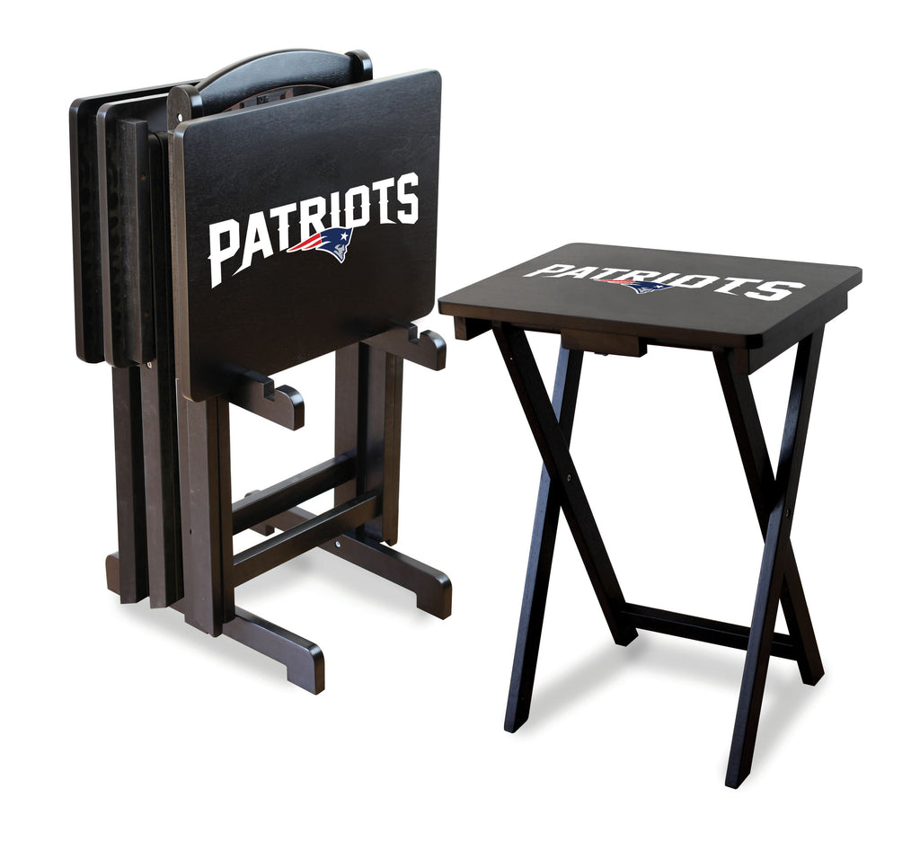 Imperial New England Patriots TV Snack Tray Set