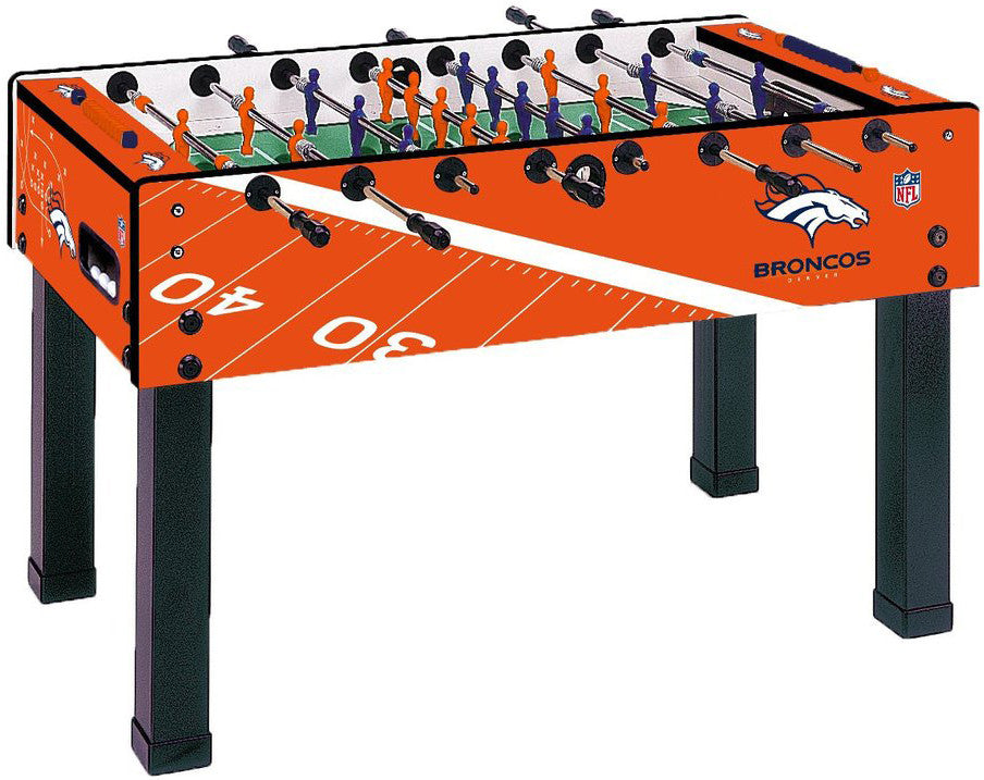 Garlando F-200 Denver Broncos Foosball Table