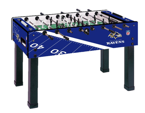 Baltimore Ravens G-500 Foosball Table by Imperial available at Foosball Planet.