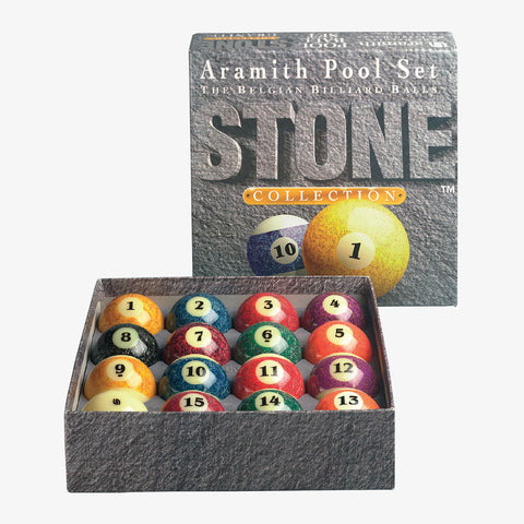 Aramith Stone Collection Billiard Ball Set