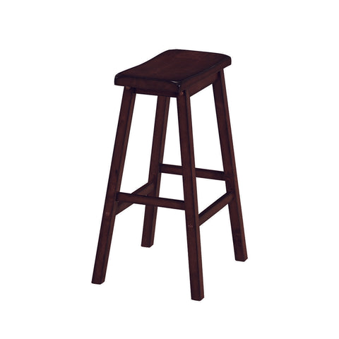 RAM Game Room Backless Saddle Barstool - Cappuccino