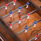 Playing Field on Signature Foosball Coffee Table by Chicago Gaming available at Foosball Planet.