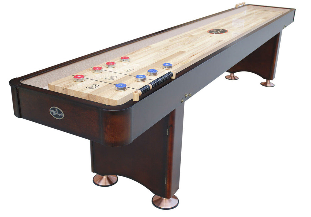 Playcraft Georgetown 16' Shuffleboard Table in Espresso