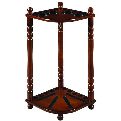 RAM Game Room Floor Cue Rack - Chestnut