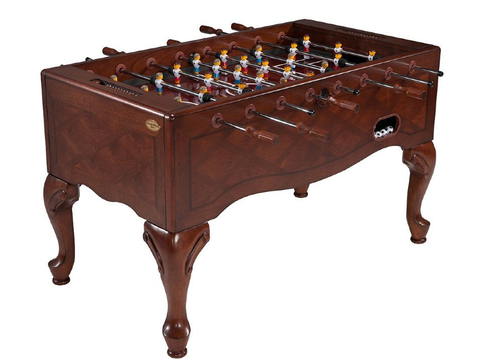 Furniture Style Foosball Table In Walnut by Berner Billiards available at Foosball Planet.