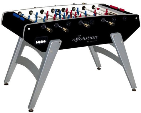 Garlando G-5000 Evolution Foosball Table, Black available at Foosball Planet