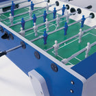Playing Field on Blue Garlando Outdoor Foosball Table which is also Weatherproof model G-2000 and it's available at Foosball Planet
