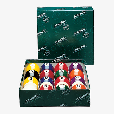 Aramith Premier 2 1/4-in. Belgian Ball Set