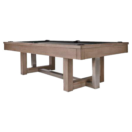 HJ Scott The Abbey 8' Slate Billiard Table in Antique Grey