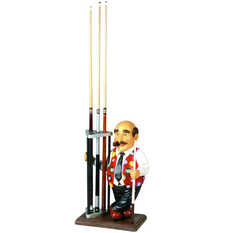 RAM Game Room Mario Pool Cue Holder Statue