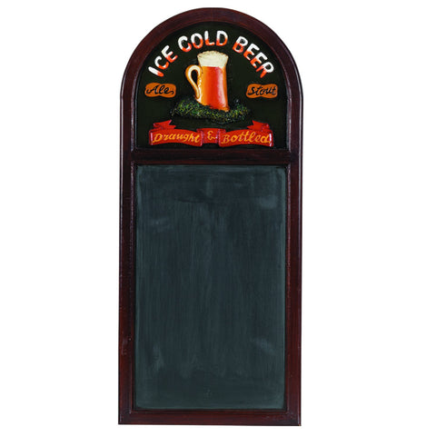 "RAM Game Room 36"" H ""Ice Cold Beer"" Chalkboard"