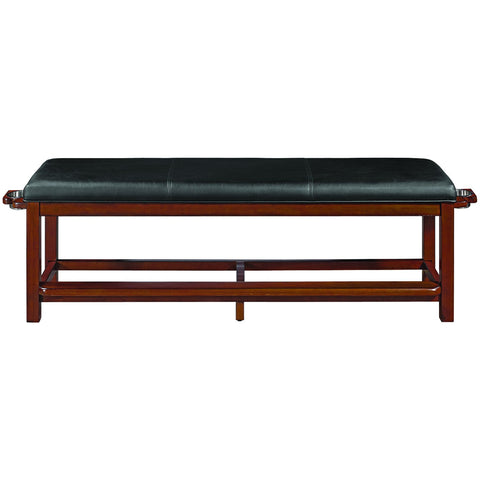 RAM Game Room Spectator Storage Bench - Chestnut