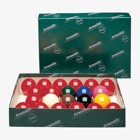 "Aramith Numberless Premier British Style 2-1/8"" Snooker Set"
