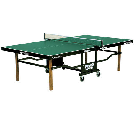 Butterfly Nippon Rollaway Green Table Tennis Table