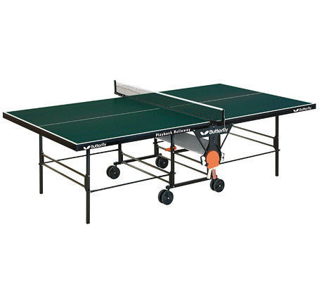 Butterfly Playback Rollaway Green Table Tennis Table