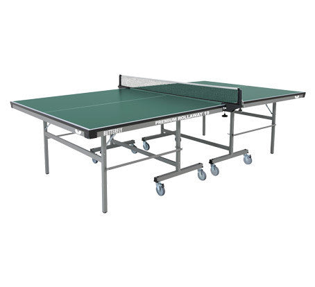 Butterfly Premium Rollaway Green Table Tennis Table