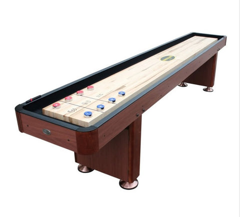 "Berner ""The Standard"" 12' Shuffleboard Table In Cherry"