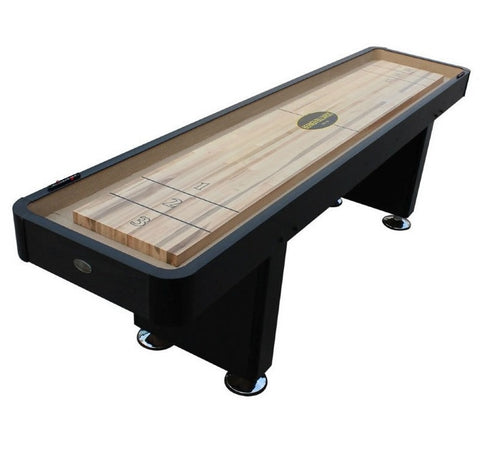 "Berner ""The Standard"" 12' Shuffleboard Table In Black"
