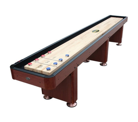 "Berner ""The Standard"" 14' Shuffleboard Table In Cherry"