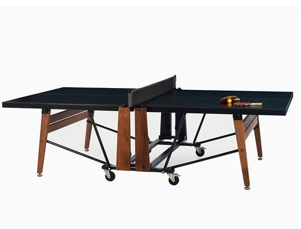 RS Barcelona RS Folding Black Outdoor Table Tennis