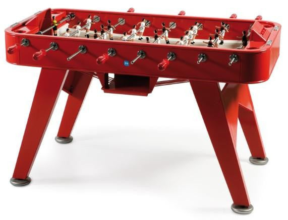 RS Barcelona Red RS#2 Iron Foosball Table