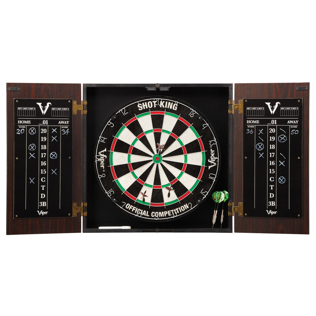 Viper Stadium Steel Tip Cabinet & Dartboard Set